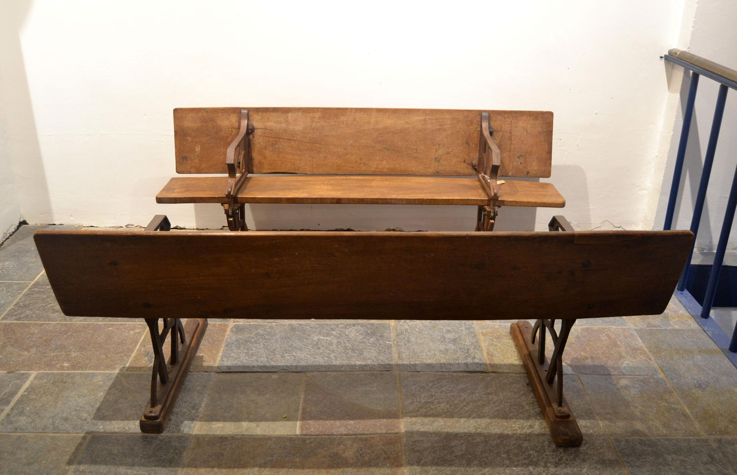 Pair of Benches / Table