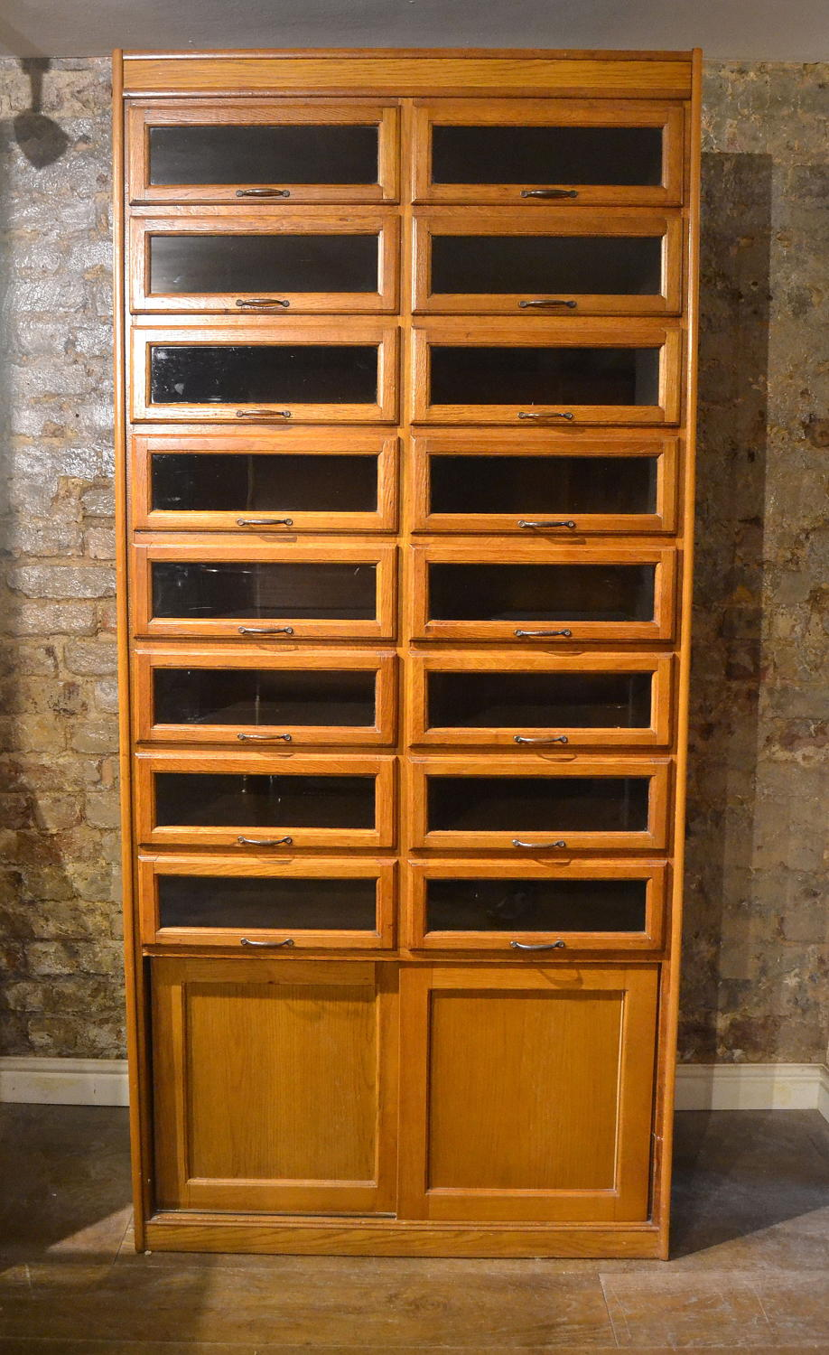 Antique Haberdashery Drawers Shopfitting Cabinet