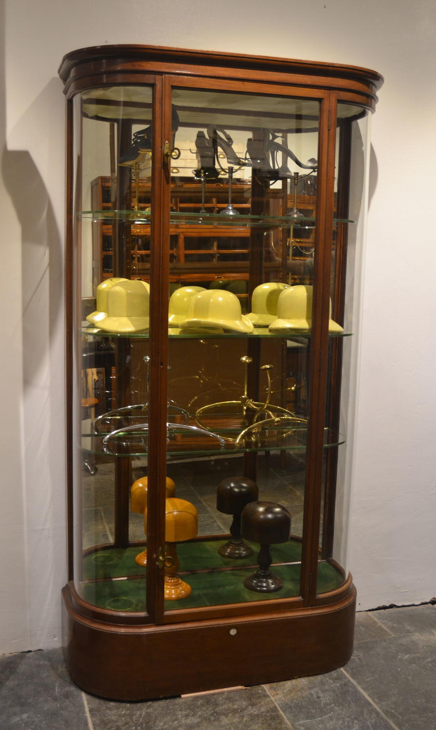 Victorian Jewellery Display Cabinet