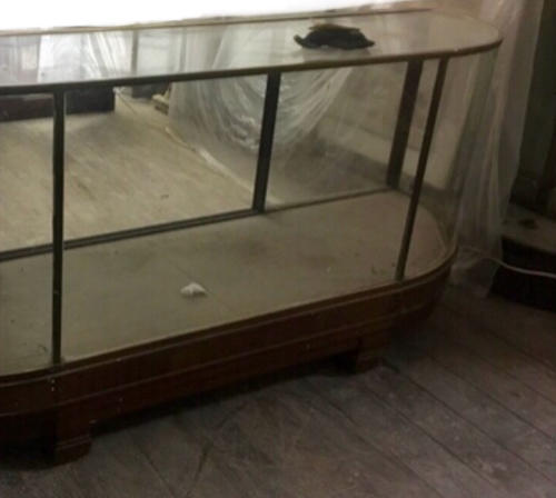 Very rare Brass double ended bow shop counter