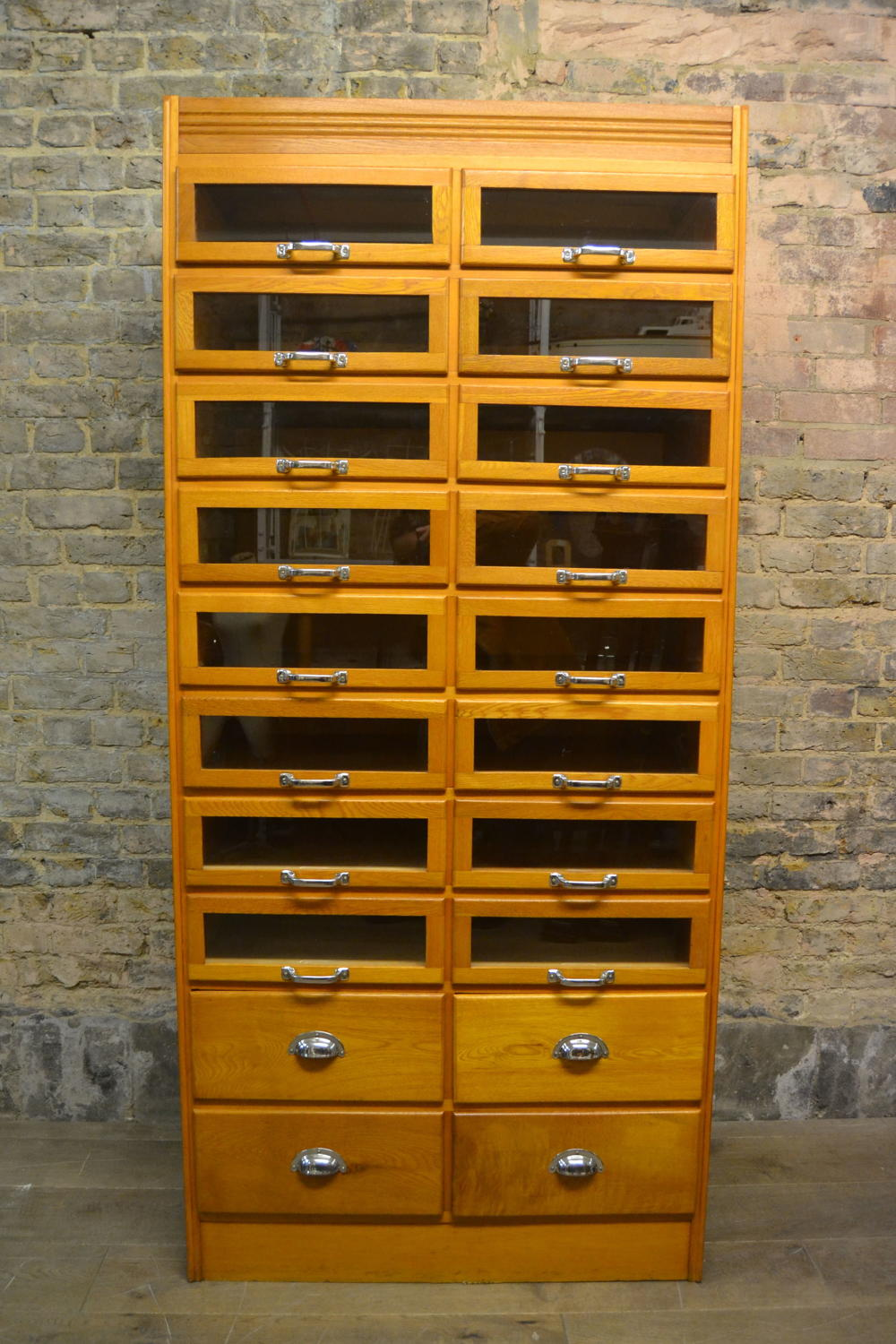 1950s Haberdashery Shop Display Cabinet