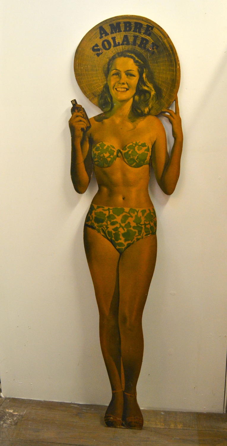 1960s Amber Solaire Cutout