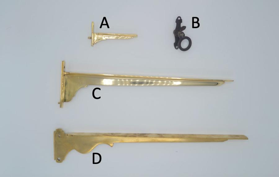 Antique Counter and Cabinet Brackets