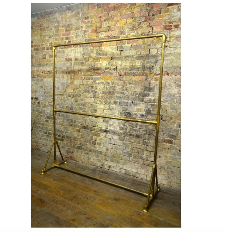 Original Brass Double Layer Rail