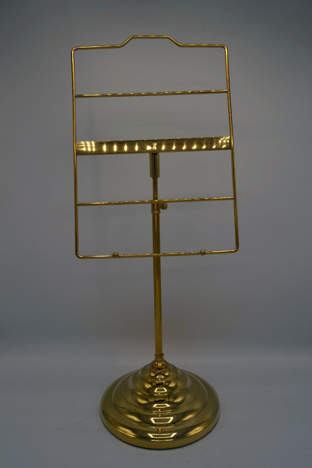 Brass Shirt Display Stand