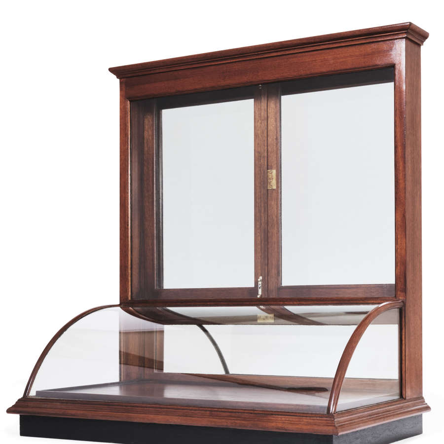 Jewellery Display Cabinet with Bow Section