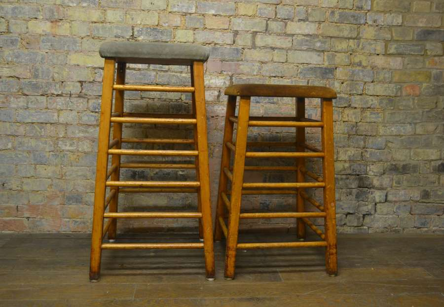Two Vintage 1930s Gym Horses