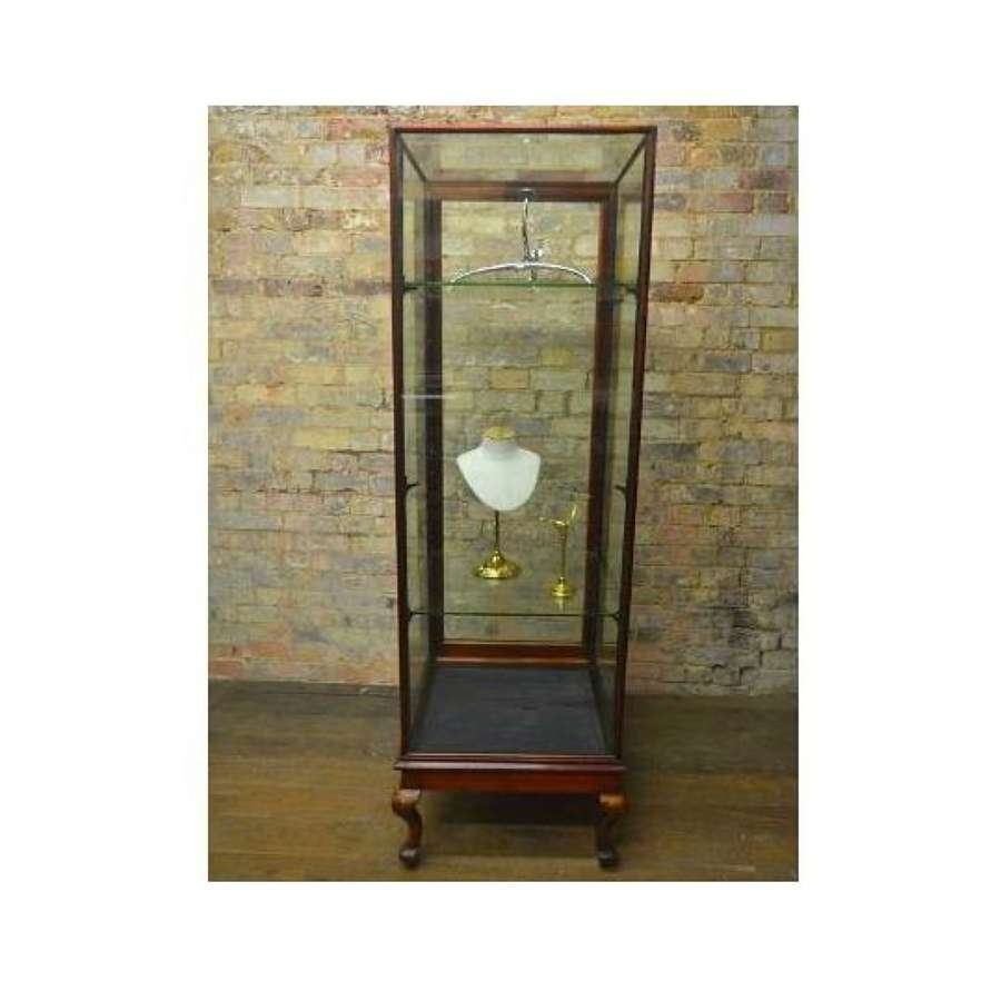 Original Victorian Tower Jeweller's Display Cabinet