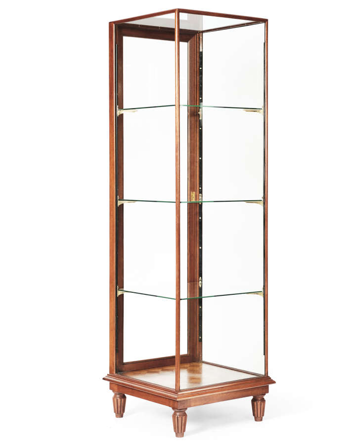 Mahogany Shop Display Cabinet