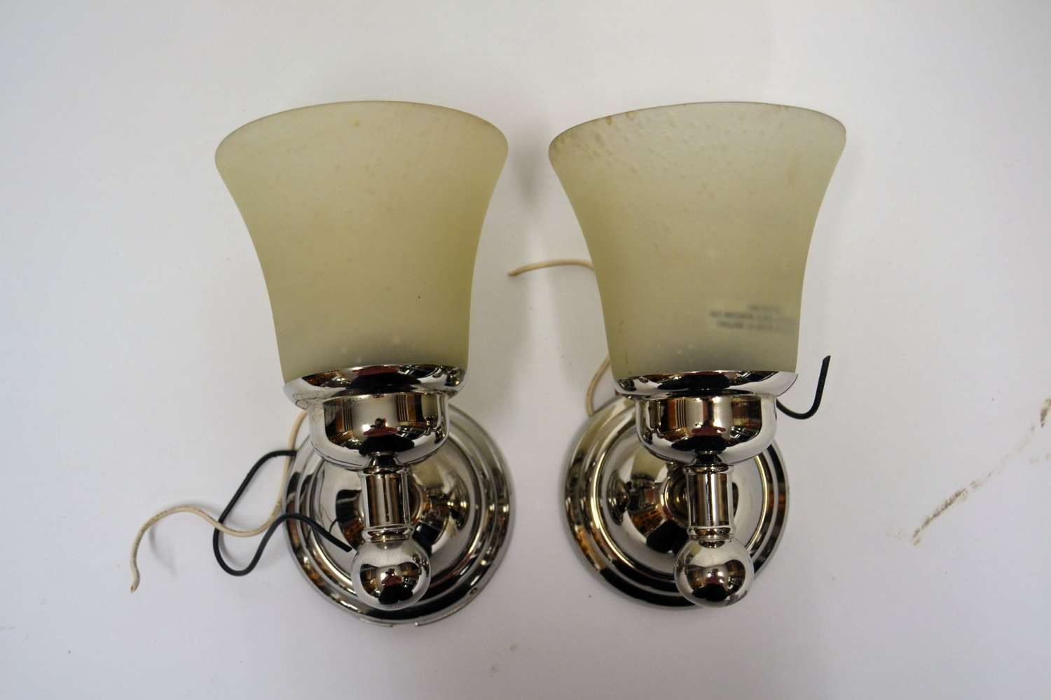 Retro American 1960s Glass Lights
