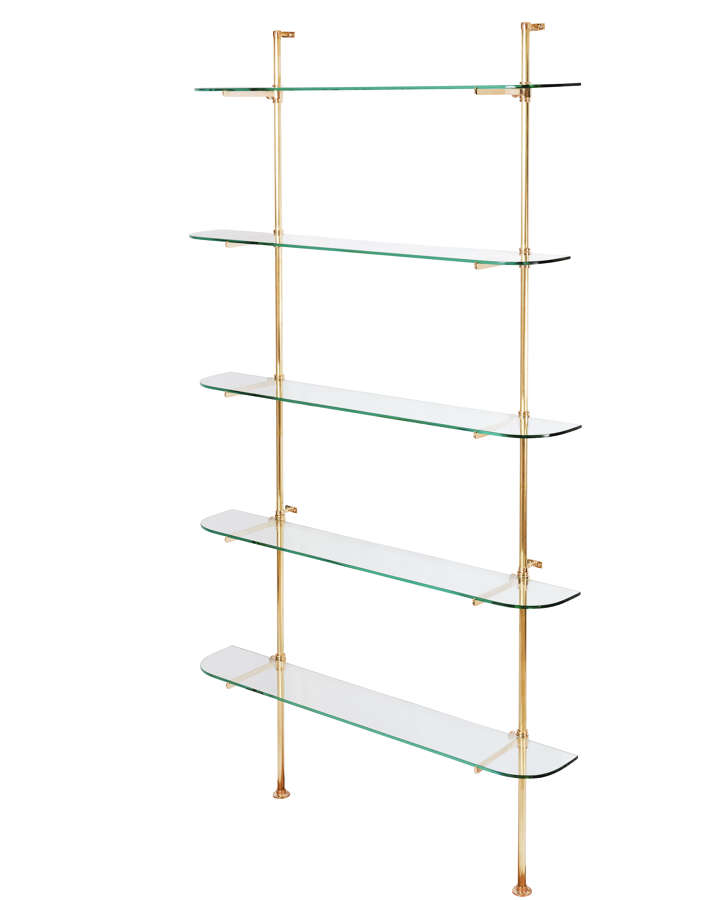 Small Bracket Shelving System