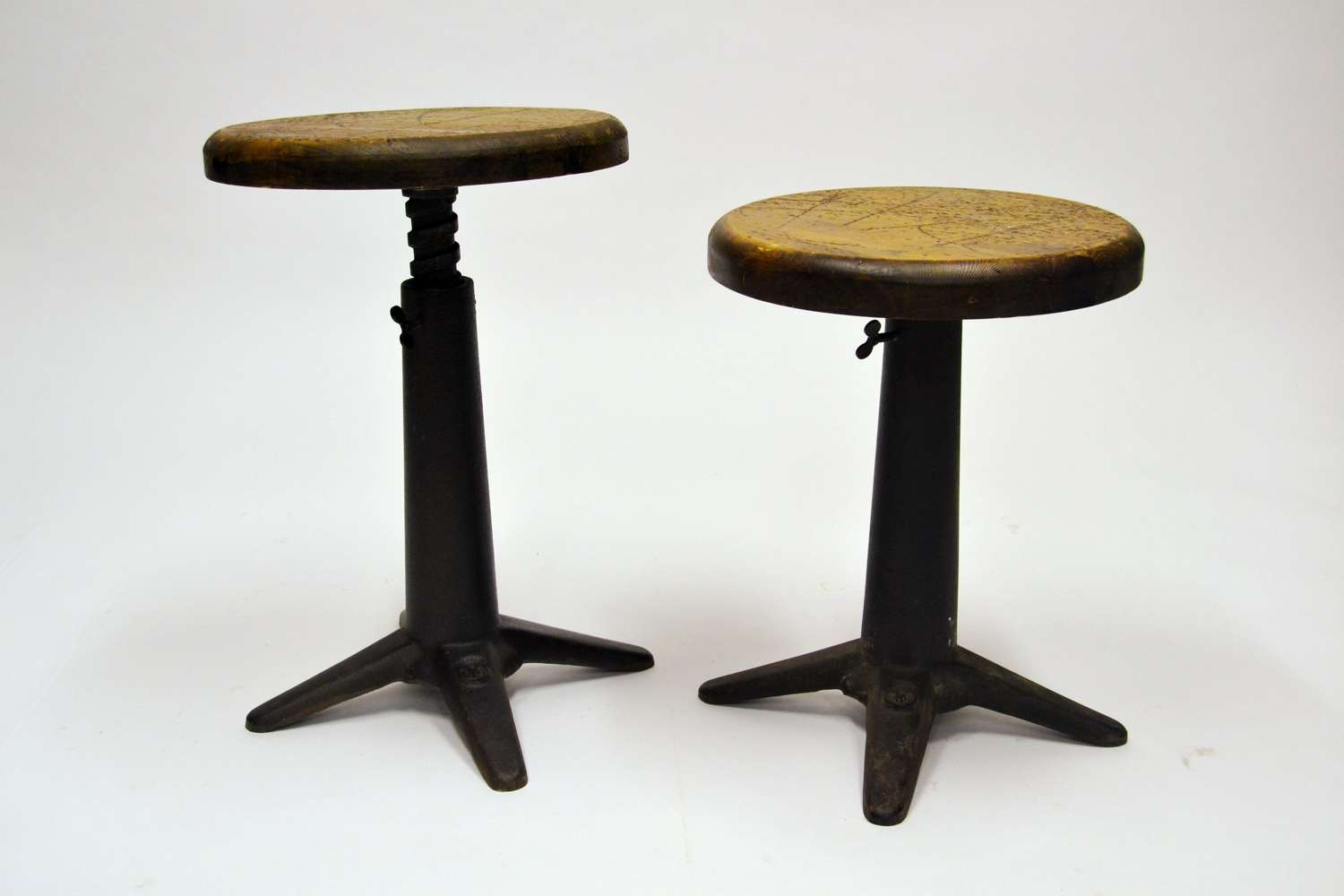 Round Industrial stools