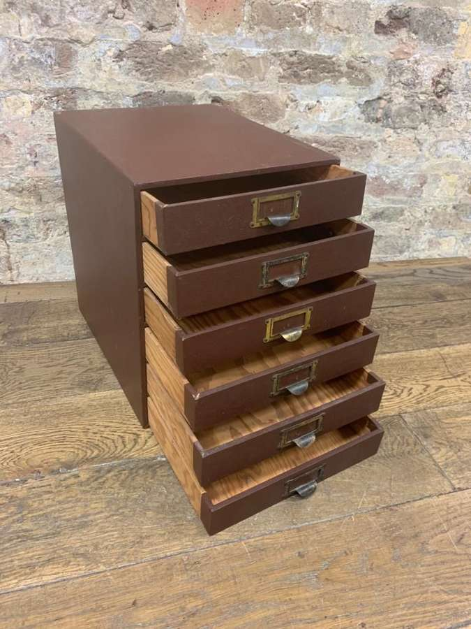 Dark Brown Jewellery Unit