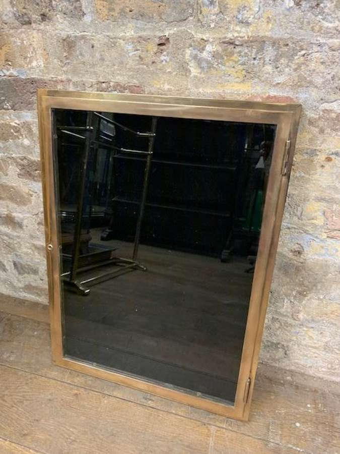 Bronze Thin Display Cabinet