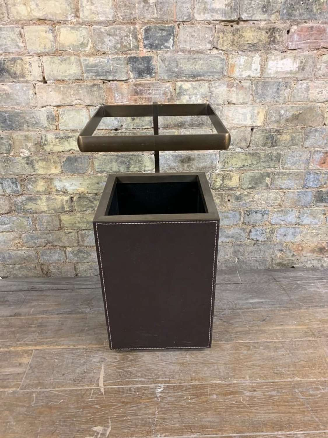 Leather Display Stand