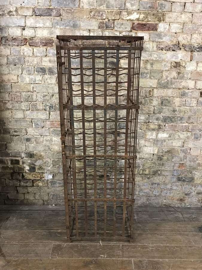 French Steel Wine Cage