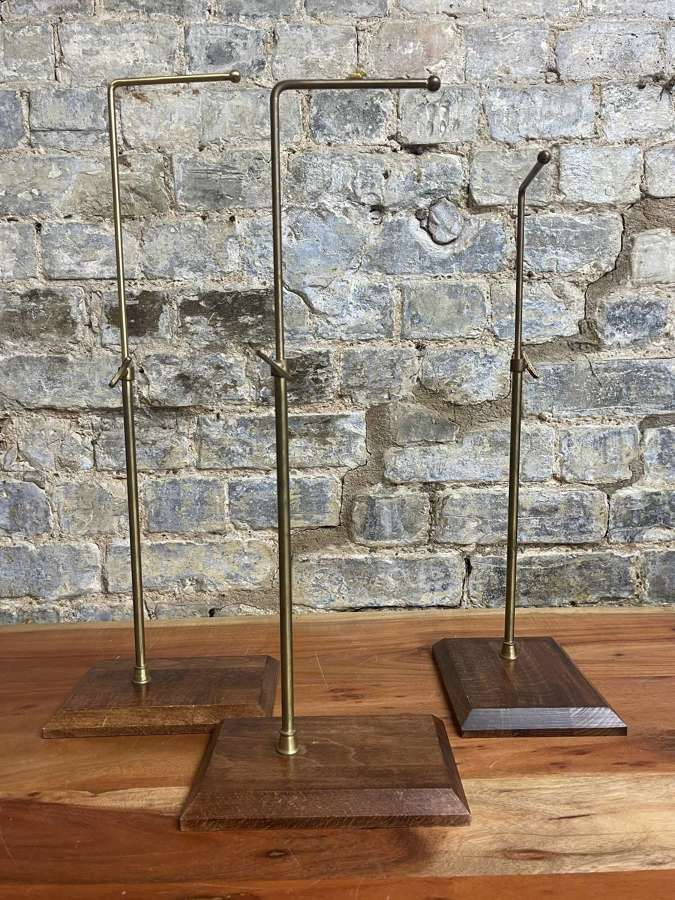 Oak and Brass Display stand